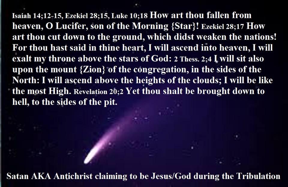 SATAN AS THE ANTI-CHRIST | RainingTruth